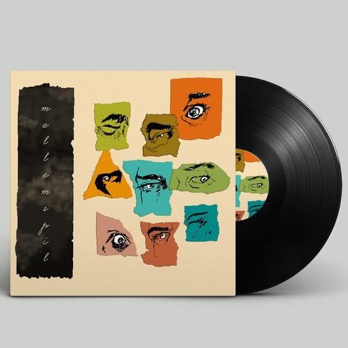 Album cover Illustration Design