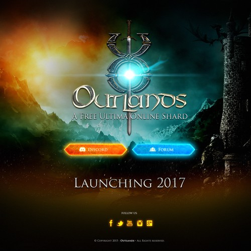 Entry for the Landing Page of Outlands