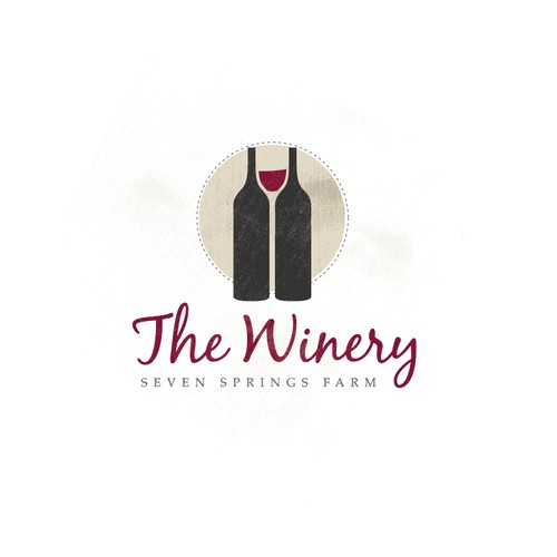 Win with wine.  The Winery at Seven Springs Farm needs a logo!