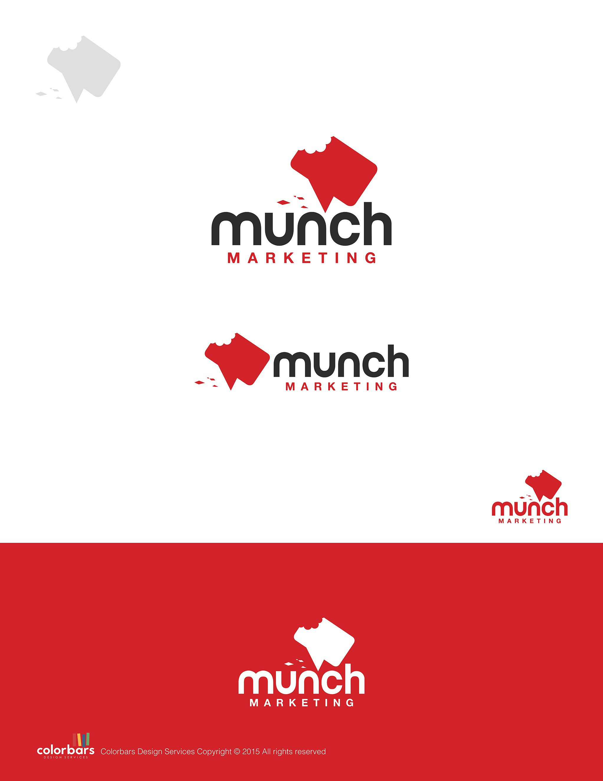 Design a snappy logo for marketing consultancy which targets cafes and restaurants