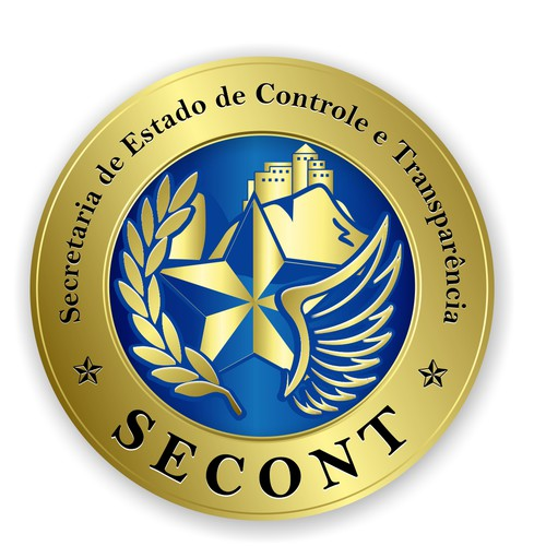Logo for a state agency