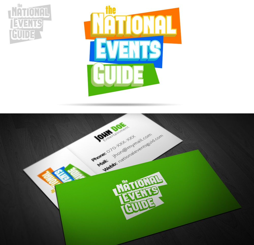 (the) National Events Guide needs a new logo