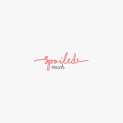 fancy logo for spoiledmuch