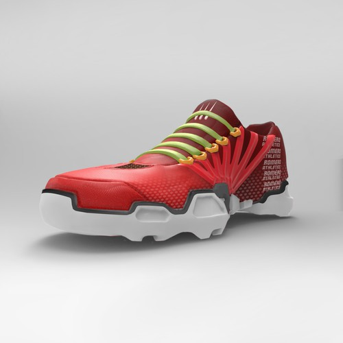Running concept shoes