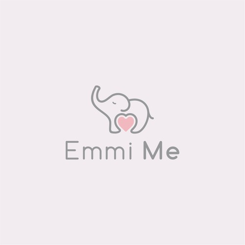 cute logo design for emmi me