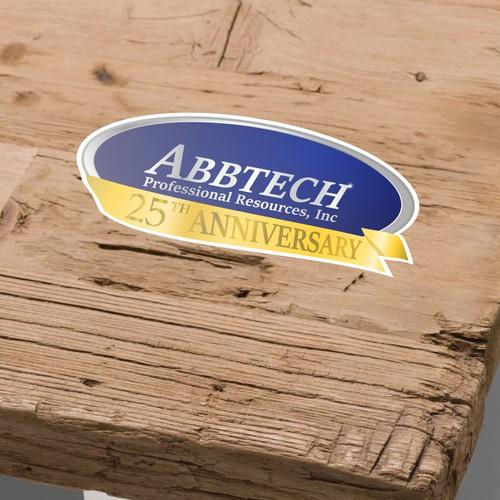 Abbtech Sticker Logo Concept