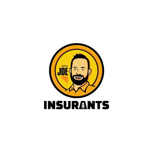 logo for Insurants podcast