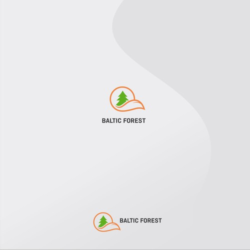 Baltic forest  logo