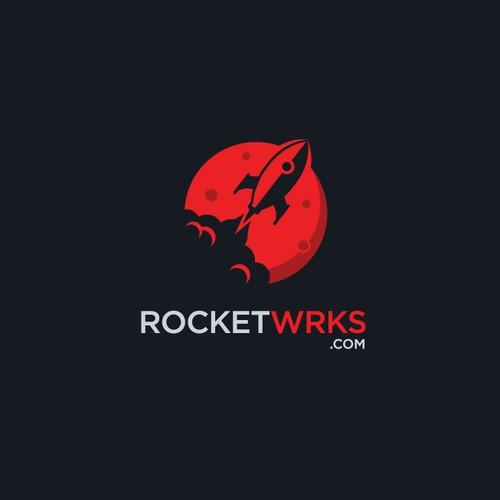 RocketWrks.com Logo Design