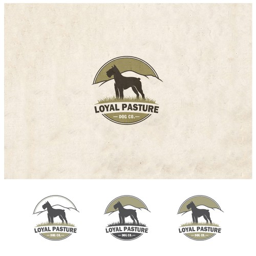 Logo for Loyal Pasture Dog Co.