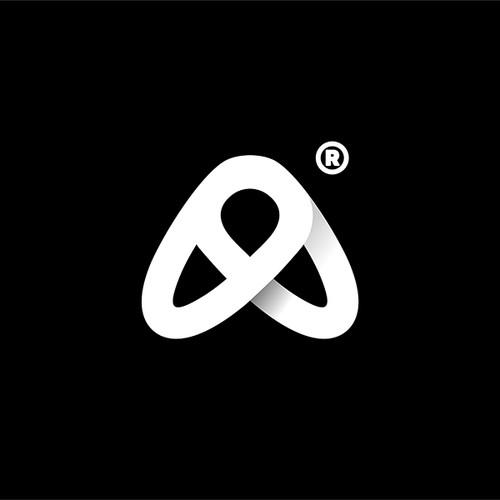 A fly letter A Logo