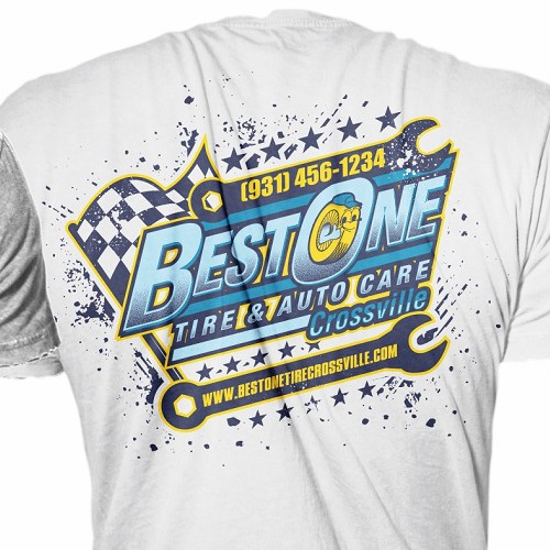 Great Tshirt Design For Automotive Business