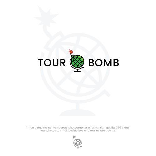 Logo design for travel agency