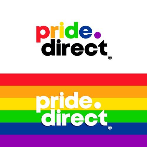 Logo design for Pride.Direct