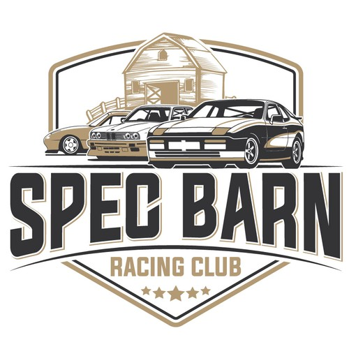 Racing club/shop logo