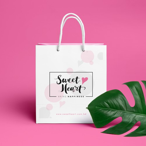 Sweet Heart Logo & Social Media Pack