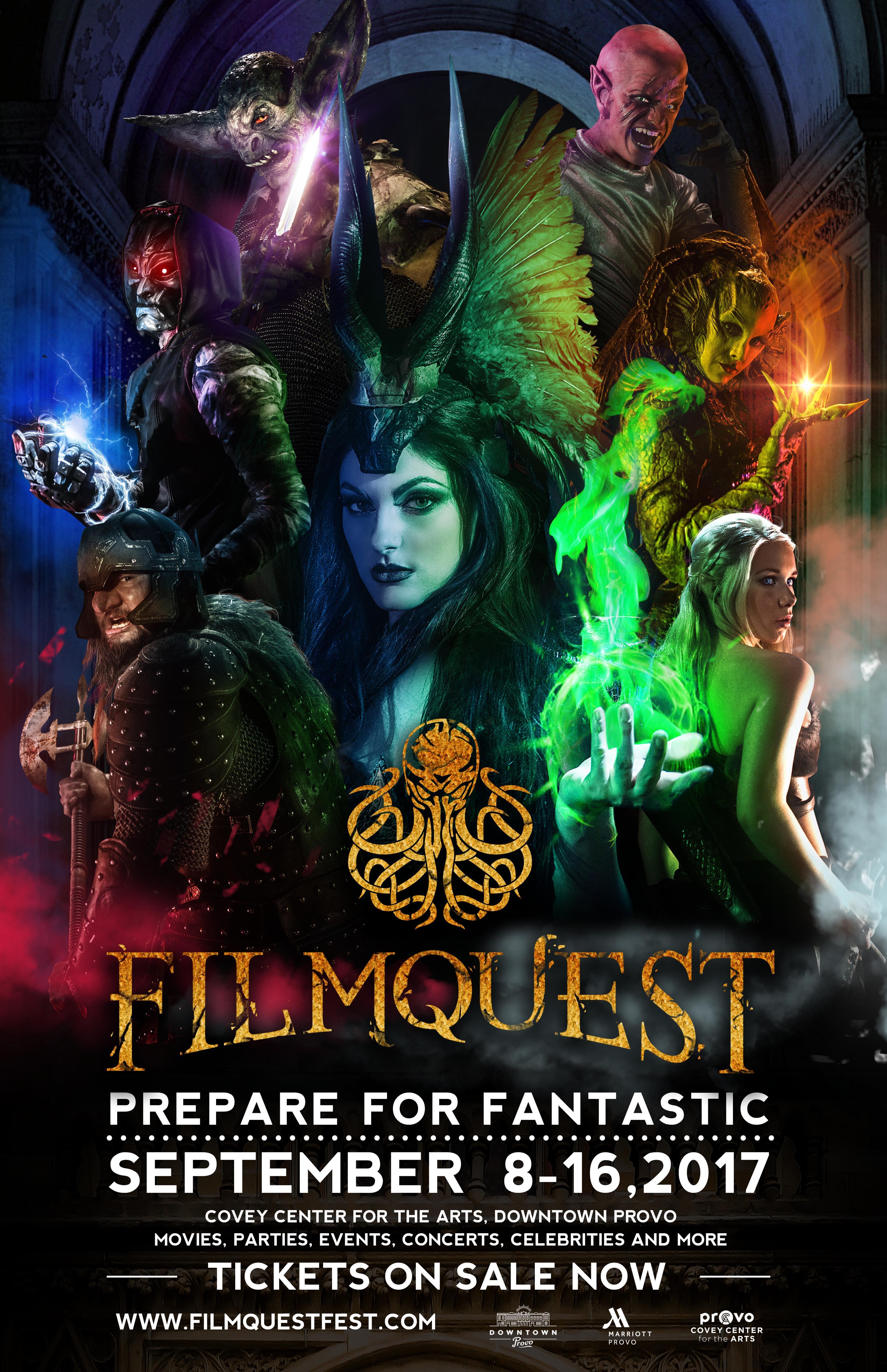 FilmQuest 2017 - Poster Design Contest for Epic Genre Film Fest