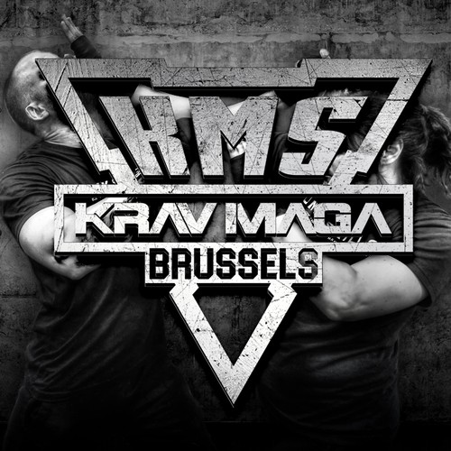 SIMPLE LOGO FOR KRAV MAGA BRUSSELS LOGO