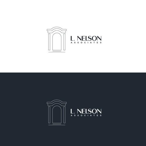 """Logo design for """" L. Nelson """""""