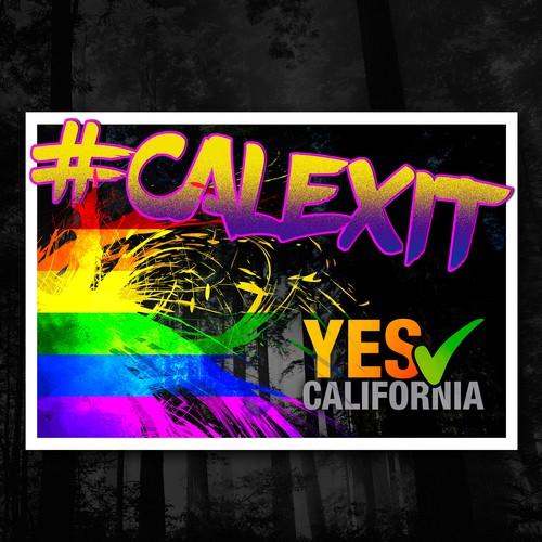 #Calexit Flyer