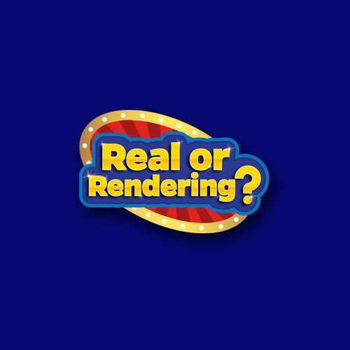 Real or Rendering