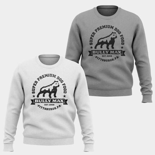 Bully Max Sweetshirt Design