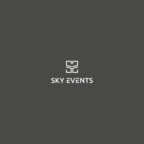 Bold logo concept for SKY EVENTS