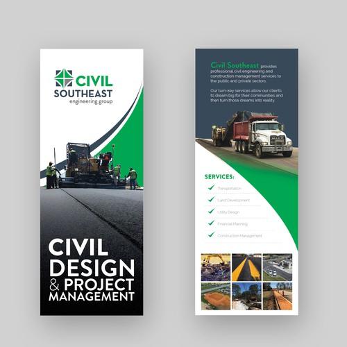 Two side flyer design