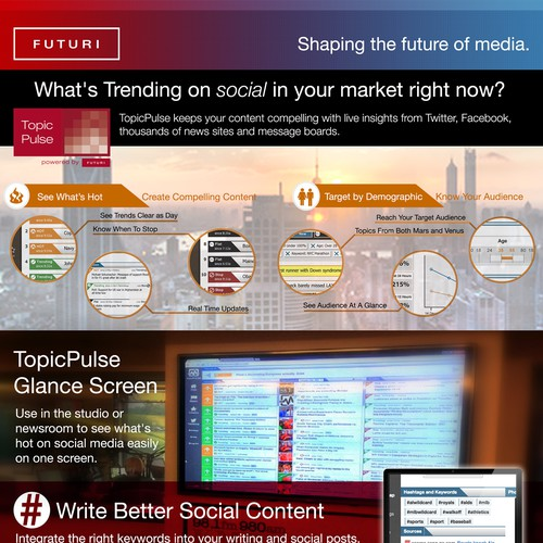 TopicPulse Social Media Monitoring for Content Producers
