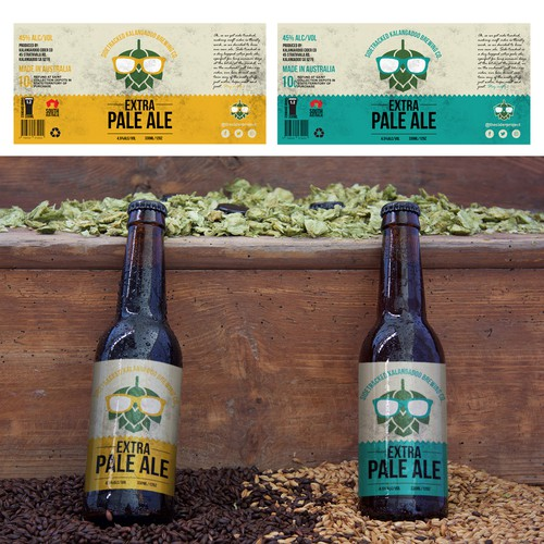 Label design for craft beer