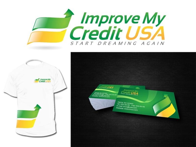 Help Improve My Credit USA with a new logo