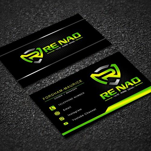 Renao Calling card