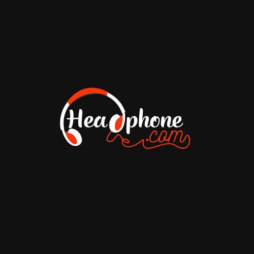 Logo for a audio website