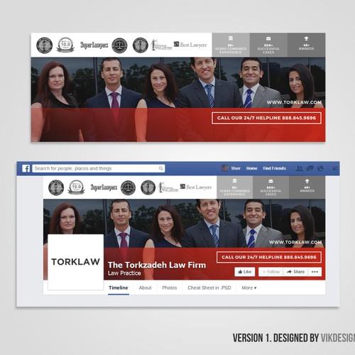 Facebook Cover for TorkLaw