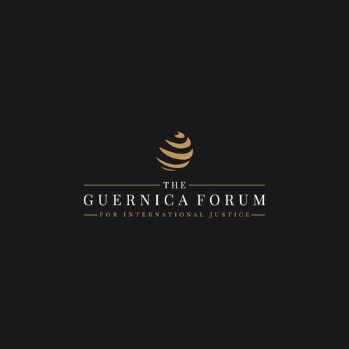Logo Concept for The Guernica Forum