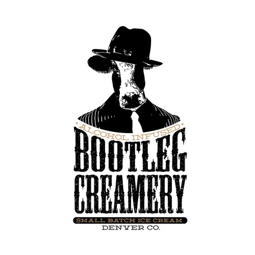 Bootleg Creamery Denver CO. alcohol infused small batch ice cream