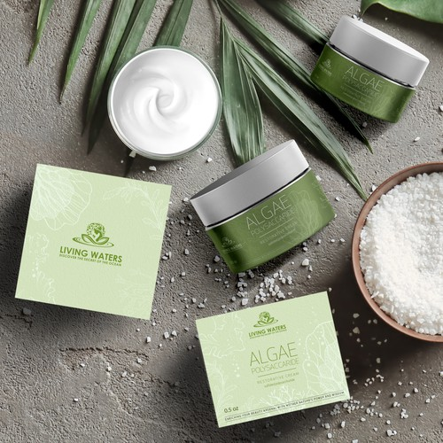 Face cream ALGAE