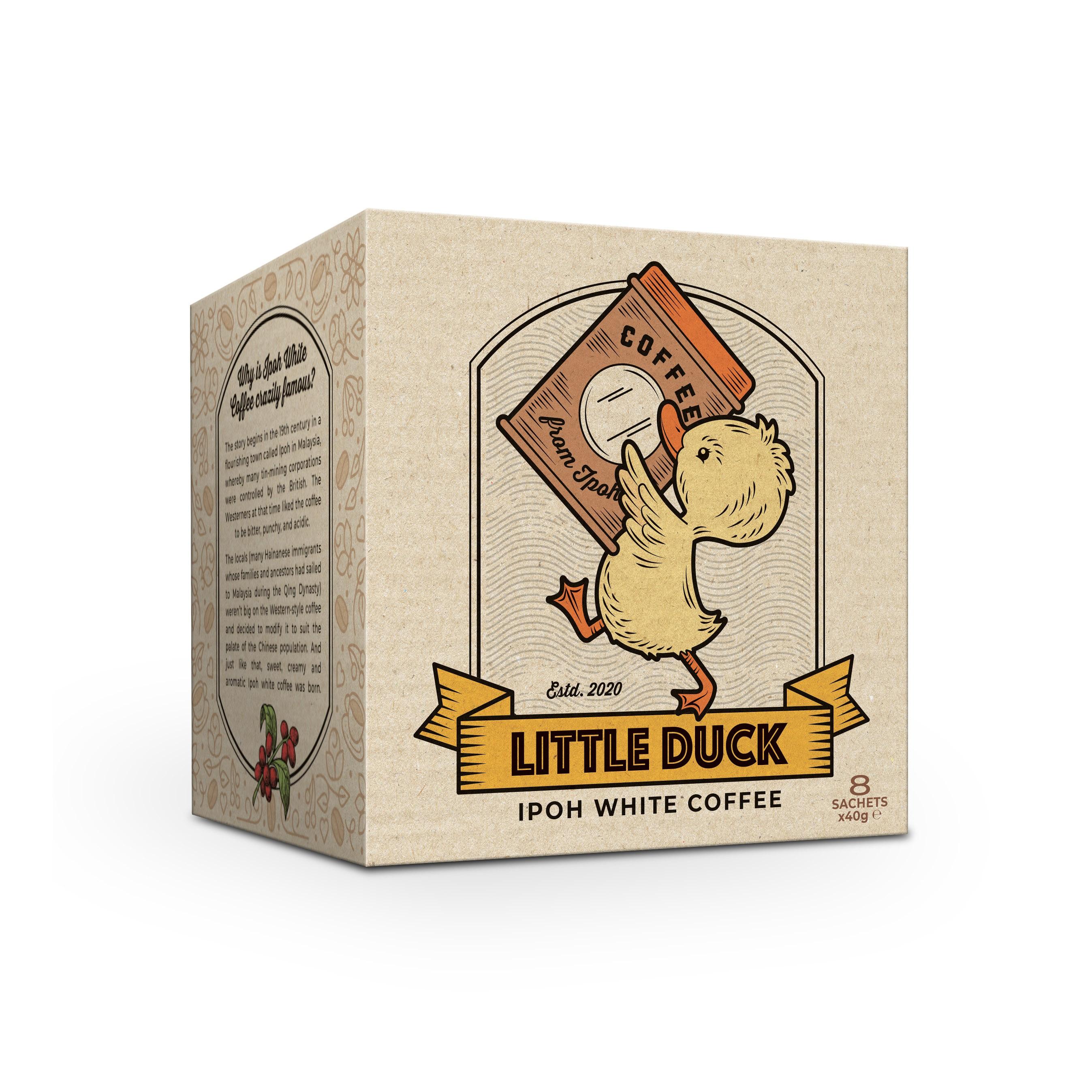 Little Duck - Box Design for White Coffee