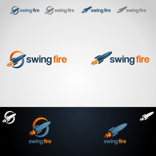 Design logo for Swingfire - An app development company!