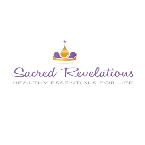 Essential Oil Logo for Sacred Revelations