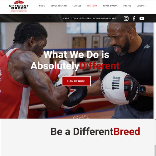 Different Breed Sports Academy