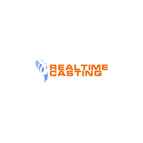 Realtime Casting - 3 year old voice casting site needs new logo for launch
