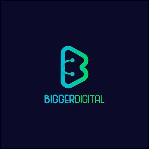 BiggerDigital Logo Design