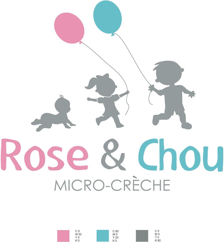 Création logo micro-crèche Rose & Chou