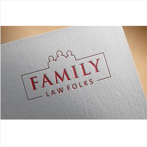 logo for family law folks