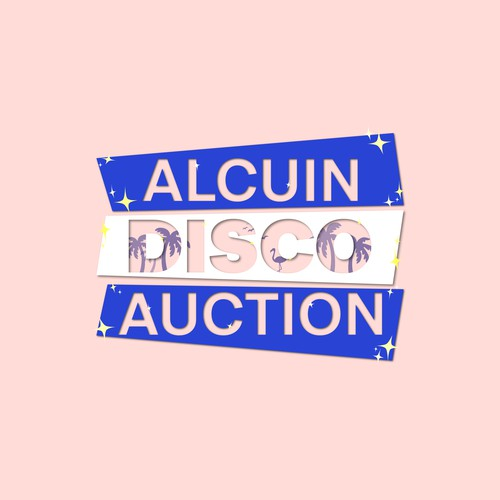 Logo concept for the disco auction
