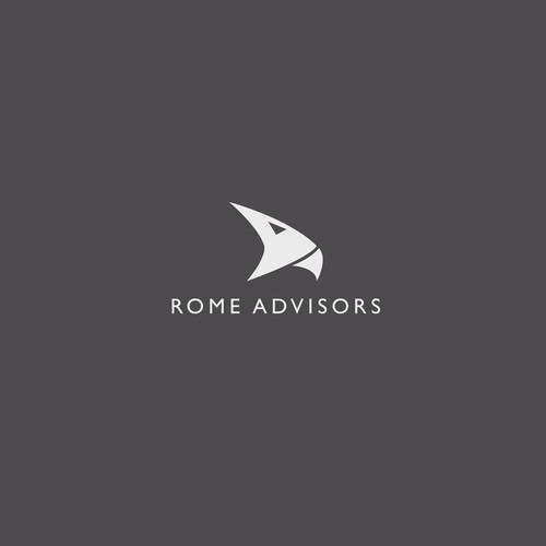 Create the next logo for Rome Advisors