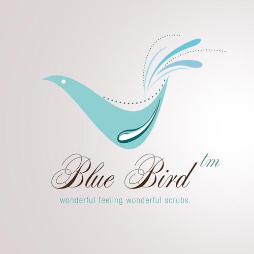 Help Blue Bird (sometimes referred to as Blue Bird Nursing Scrubs by Medelita OR Blue Bird by Medelita) with a new logo