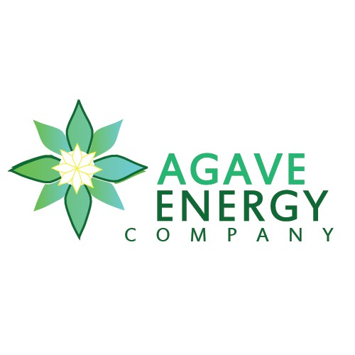 Create a clean simple design for Agave Energy Company