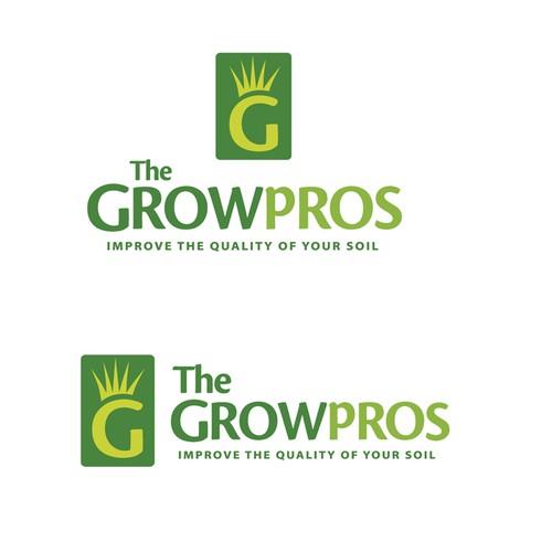 The growpros logo